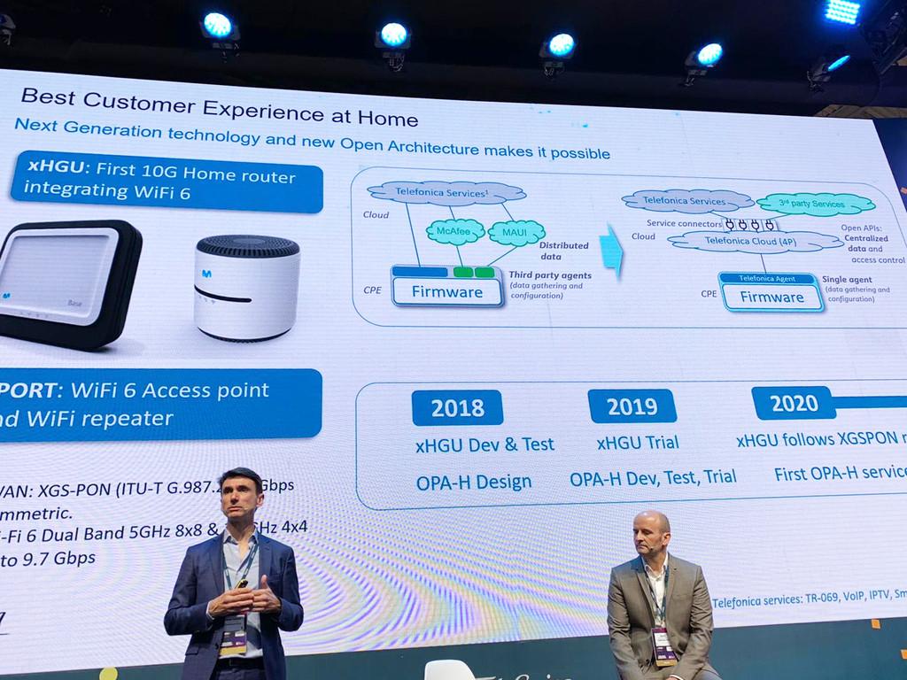 xHGU es el nuevo router de Movistar con WiFi 6 y hasta 10 Gbps