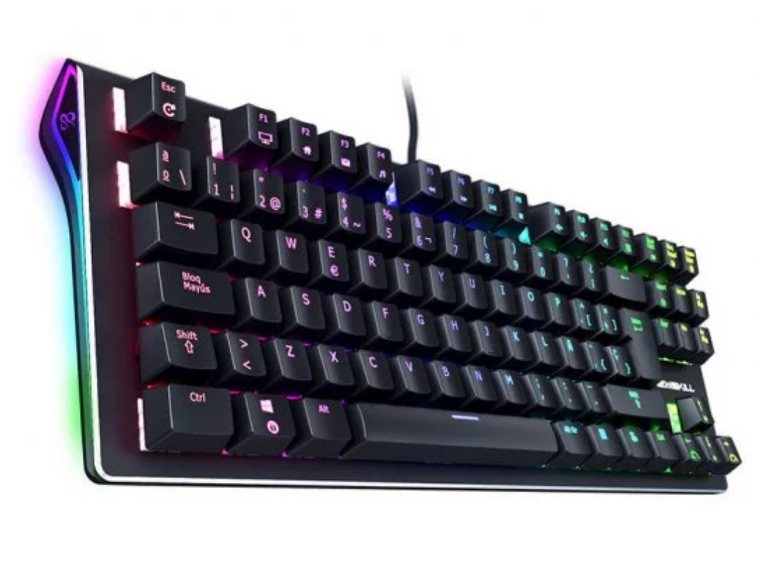 Newskill Serike TKL Teclado Mecánico Gaming Full RGB Switch Blue