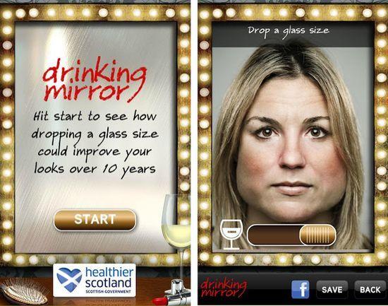 Drinking-Mirror