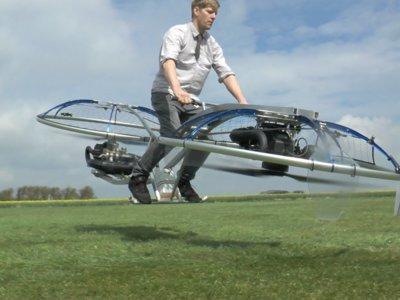 Este increíble proyecto nos hace realidad el sueño de tener una moto voladora