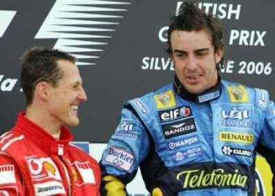 Fernando Alonso machaca en Silverstone