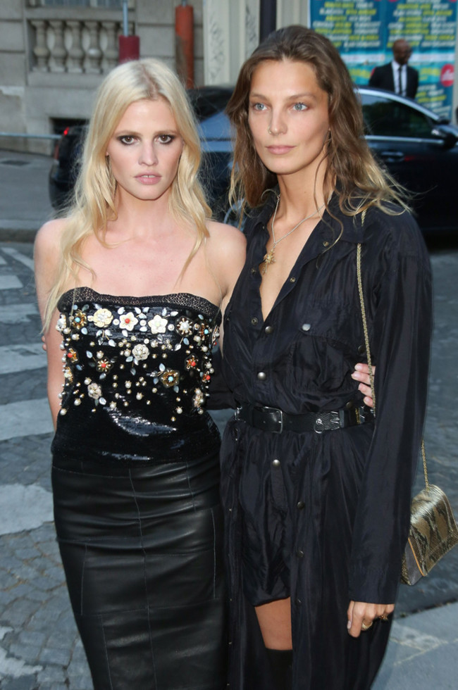 Lara Stone Werbowy Fiesta Vogue Party Paris