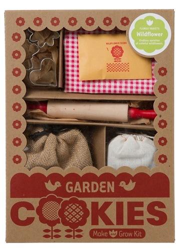 Planta galletas en tu jardín... ¡y crecerán flores silvestres!