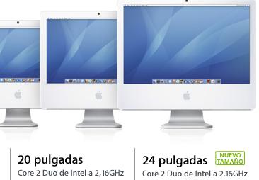 iMac de 24 pulgadas