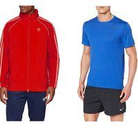 Ofertas en ropa deportiva para hombre: chaquetas, camisetas y chándales de marcas como Nike, Adidas o New Balance