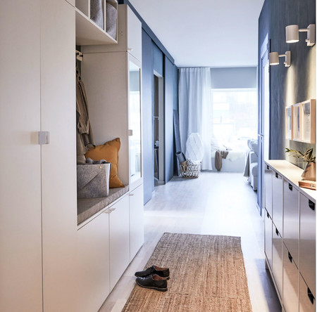 Tres propuestas de Ikea para conseguir un recibidor funcional en casa