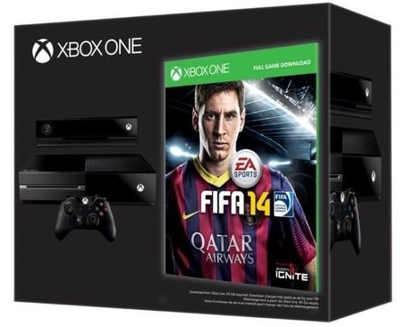 Llévate un FIFA 2014 de regalo con algunos Xbox One en México