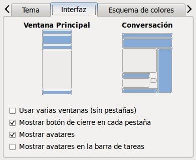 Emesene - Interfaz Personalizada