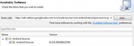 Android Source Plugin, accede a todo el código de Android desde Eclipse