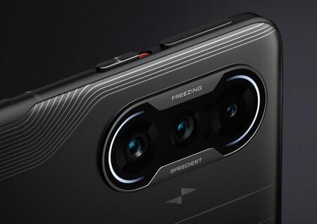 Xiaomi nos muestra cómo funciona el sensor con lente híbrida del nuevo Redmi K40 Gaming Edition