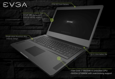 Evga Sc17 Gaming Laptop 01