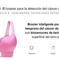 Eva, el brasier que detecta cáncer de mama, será probado en el IMSS