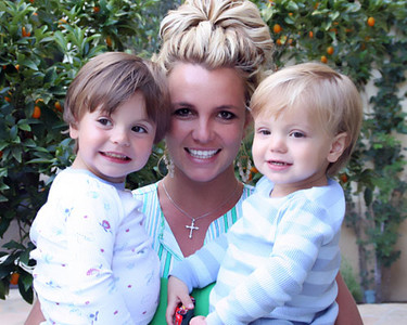 Britney Spears votada como la mejor mamá