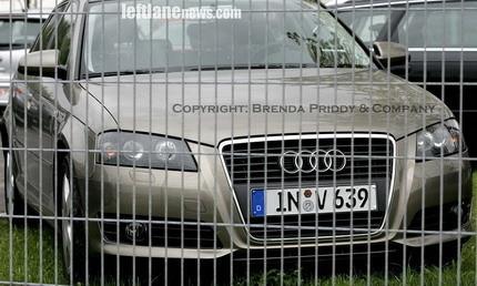 Pequeño restyle para el Audi A3, foto no oficial