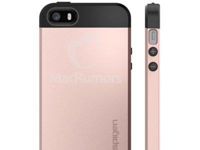 Las fundas de Spigen sugieren un iPhone SE tremendamente parecido a un iPhone 5s
