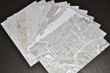 Mapas postales