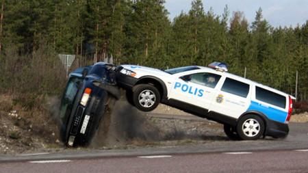 Persecucion Volvo Audi