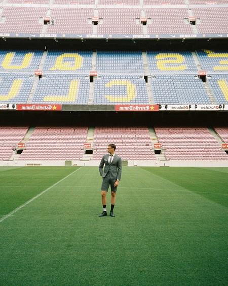 Thom Browne Es El Nuevo Fichaje Del Barcelona Vestira Al Equipo En Sus Eventos Formales
