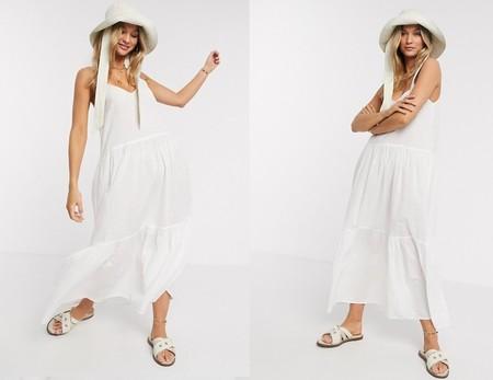 Dakota Johnsson Vestido Blanco 9