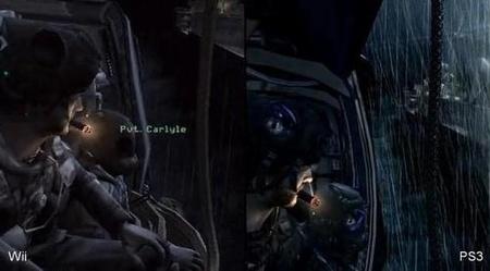 Comparativa gráfica: 'Modern Warfare' para Wii contra 'Modern Warfare' para PS3