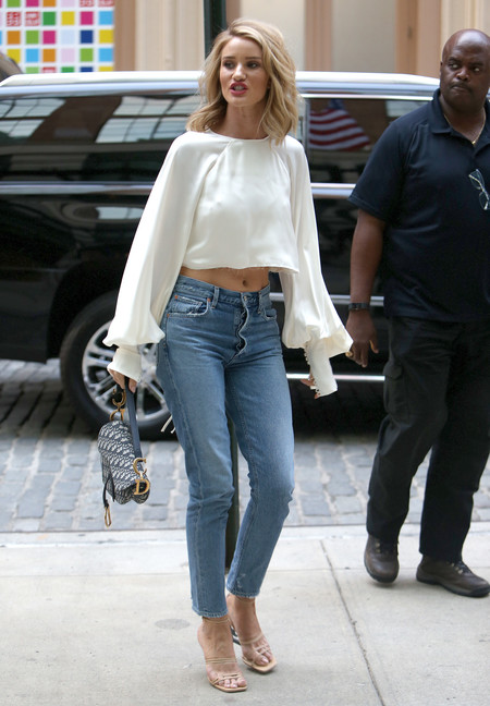 rosie huntington whiteley streetstyle