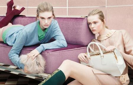 Modelos Ninas Pequenas Edad Minima Ondria Hardin Prada campaña