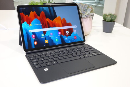 Galaxy Tab S7 Con Teclado