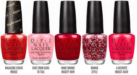 Llega Minnie Couture, la colección veraniega y muy apetecible de OPI