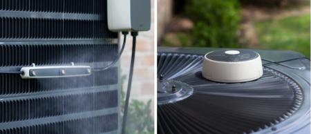 Mistbox añade una cortina difuminada de agua a tu aire acondicionado