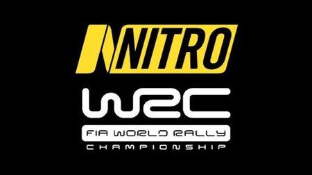 Nitro patina en la emisión del Mundial de Rally