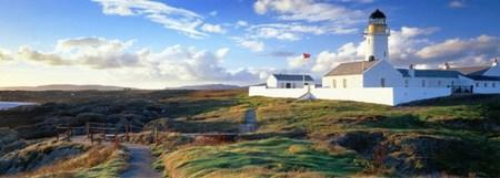 Un faro en la Isla de Man