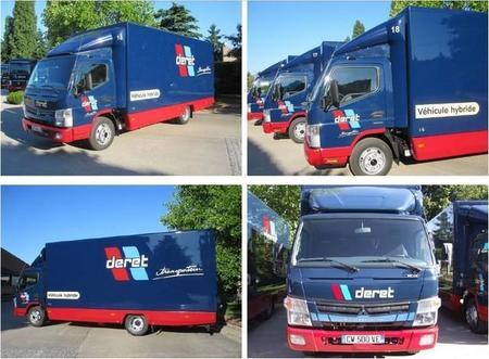 El Grupo Deret incorpora 22 camiones Fuso Canter EcoHybrid a su flota