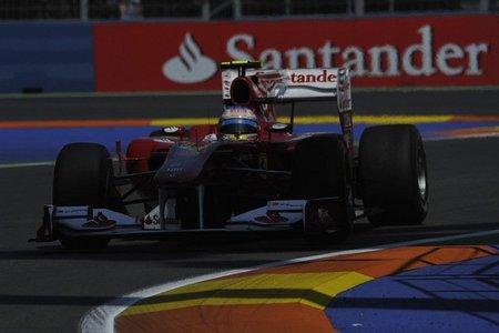 GP de Europa 2010: Fernando Alonso partirá cuarto con posiblemente un ritmo de carrera a la altura de Red Bull y McLaren