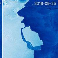 Se desprendió de la Antártida un gigantesco iceberg de más de 350.000 millones de toneladas y 22 veces el tamaño de Manhattan