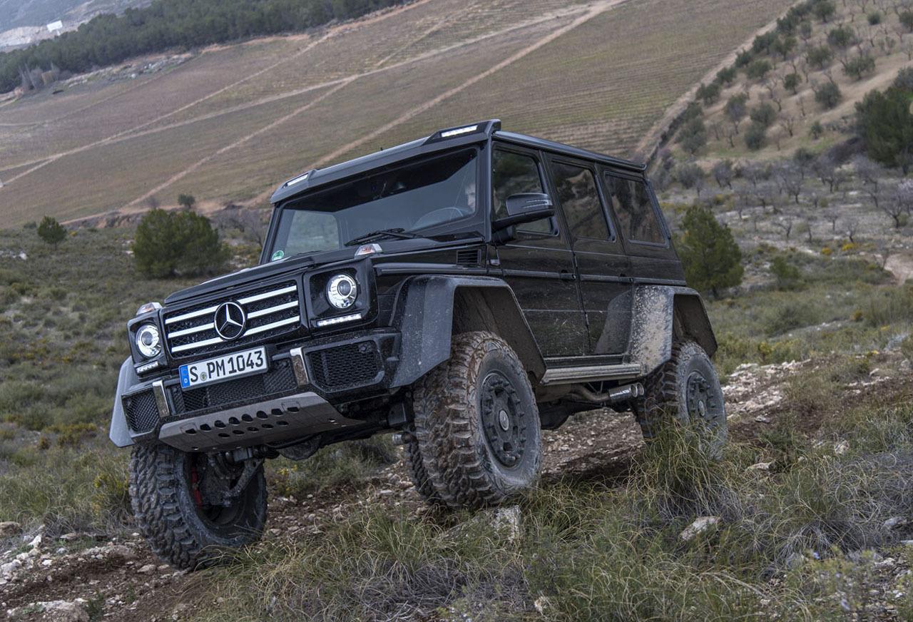 Foto de Mercedes-Benz G 500 4x4², toma de contacto (63/127)