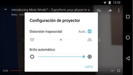Moto Mods Projector