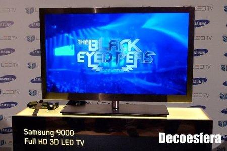 Televisor Samsung LED 9000 en 3D