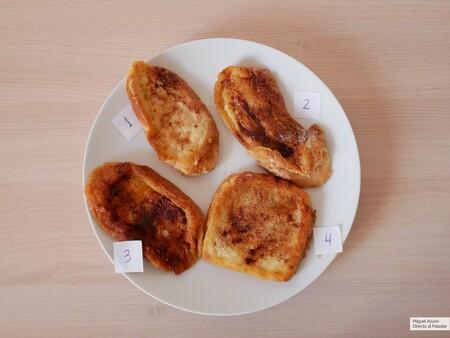 La batalla de las torrijas: las cocinamos (y catamos) con cuatro panes de diferentes supermercados