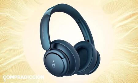 Chollazo: hasta esta medianoche tienes los auriculares con cancelación de ruido Anker Life Q35 de Soundcore a precio mínimo, por 89,99 euros en Amazon
