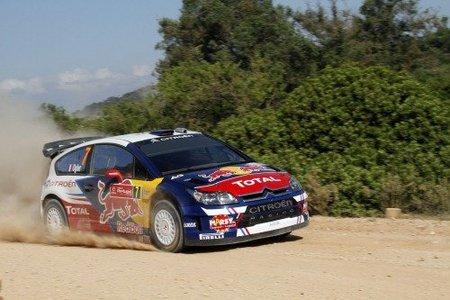 Sebastién Ogier lider tras un fugaz final de la primera jornada del Rally de Portugal