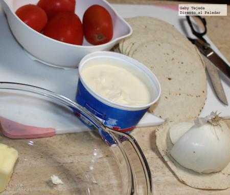 Ingredientes para a sopa c m d a