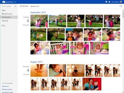 SkyDrive estrena un timeline de fotografías y mejora la velocidad de subida de archivos