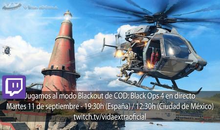 Streaming del modo Blackout de Call of Duty: Black Ops 4 a las 19:30h (las 12:30h en CDMX) [finalizado]