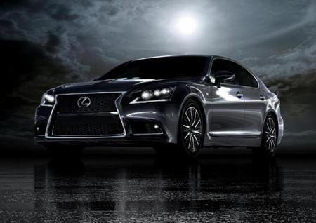Primeras imágenes del Lexus LS 2013