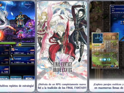 Final Fantasy: Brave Exvius ya disponible para descargar gratis en Google Play