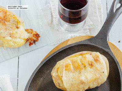 Papas al horno con jamón y queso, pechugas de pollo a la BBQ y más en Directo al Paladar México