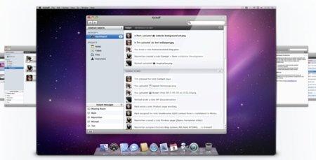Kickoff, una nueva herramienta de trabajo en grupo para Mac OS X