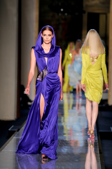 Raso Versace Alta Costura Verano 2014
