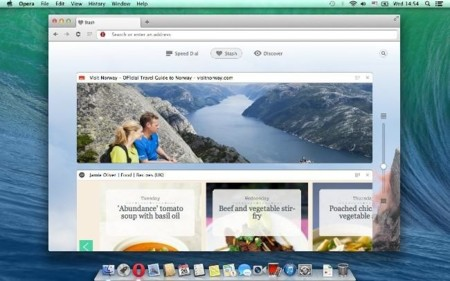 Opera, ahora basado en Chromium, ya es estable y oficial en OS X
