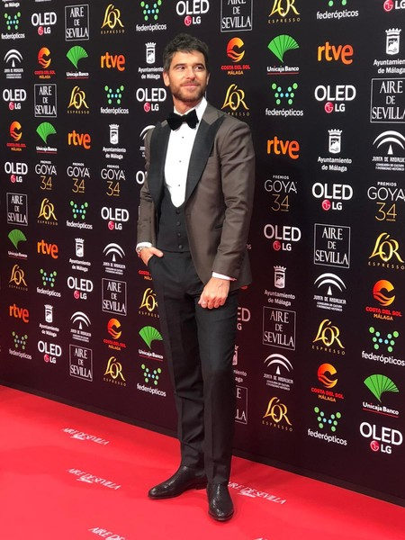 Alfonso Bassave Goya Cinema Awards 2020 Red Carpet 03